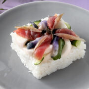 簡単華やか!長いも漬でミニちらし寿司