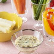 柚子の風味が爽やか!野菜と大根漬のスティックサラダ